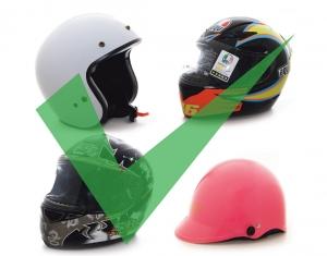 電單車頭盔安全指引出台