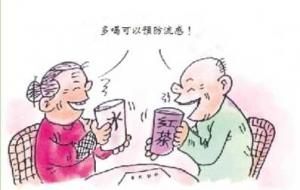 冬春多喝茶水防流感