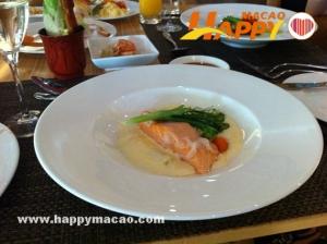 和庭餐廳豐富的自助美食