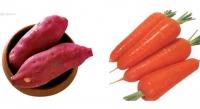 番薯紅蘿蔔煲大芥菜