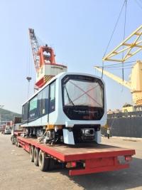 首批輕軌列車抵澳月初展開測試工作