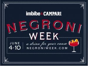飲兩杯支持Negroni Week