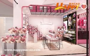 粉紅初夏 打卡粉色花店粉色咖啡館粉紅夢幻城