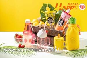 香港星巴克20週年水果造型杯