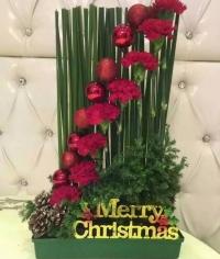 迎聖誕花藝班