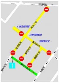 望德堂區臨時交通安排
