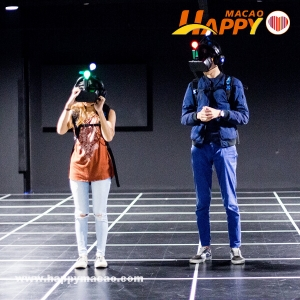 減壓一流!VR實境一齊打喪屍