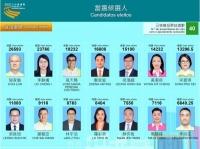 2021年立法會選舉當選名單