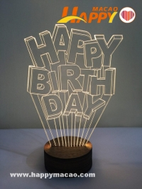 Light up  3D造型夜燈