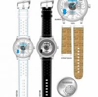 多啦A夢限定珍藏版3D Magic日曆腕錶