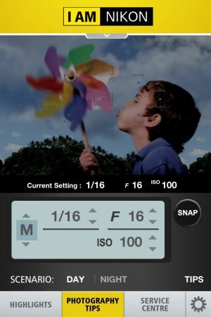 Nikon iPhone 程式隨時隨地體驗專業技術