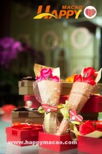 情人節金沙中國送贈手作花傳遞愛