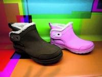 Crocs佔保暖鞋一席位