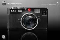 幾可亂真,iPhone 4/4S 變身經典 Leica M3 機皇!!