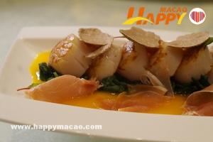 金沙廚藝七餐廳呈獻季節美食黑白松露菜單