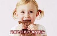 兒童吃巧克力 易哭不安