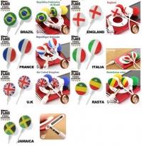 2010世界盃入圍國家主題入耳式耳機