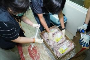 市政署暫緩巴西凍肉入口