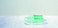 Lacoste Gazon slip on粉綠迷人