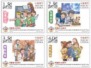 『同善堂120周年』郵品發行