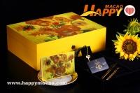 梵高《向日葵》▪花前月下月餅禮盒