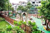 白鴿巢公園兒童遊樂區重整開放