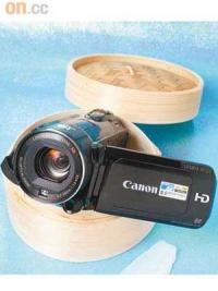 Canon雙插卡DV 出籠