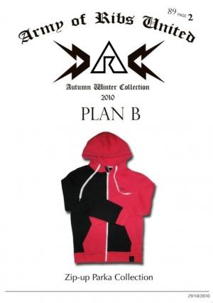 """Ribs 2010秋冬主題""""Plan B"""" 第二波"""