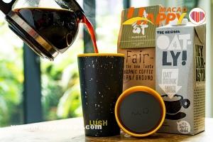 攜杯去 Lush K11 MUSEA 新店免費飲咖啡