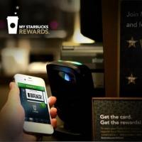 星巴克飲咖啡手機Scan & Pay
