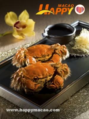 六餐廳大閘蟹菜單