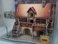 歐風建築3D砌圖 帶眼睛去旅行