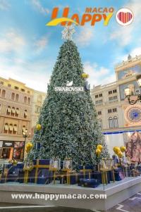 12米高旋轉Swarovski水晶聖誕樹