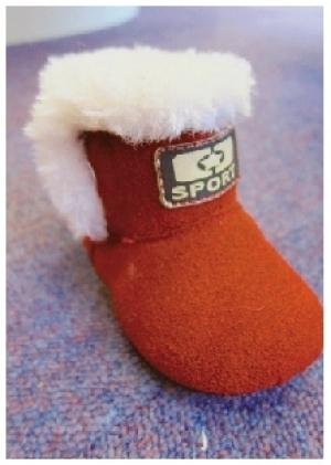 可愛紅靴伴聖誕