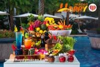 夏威夷池畔燒烤自助餐派對