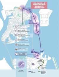 城市總體規劃及輕軌東線方案公開諮詢60日