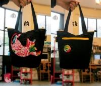 黑系列貓貓手作袋