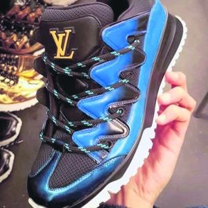 Louis Vuitton ZigZag球鞋 層次感豐富