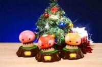 蘑菇雞娃娃感應燈