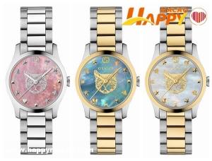 GUCCI五款全新G-Timeless ICONIC腕錶