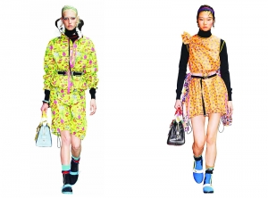 Prada 時尚運動風