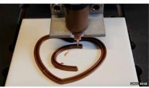 3D列印巧克力月底上市