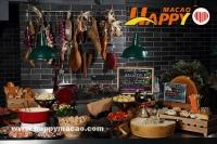 Merry 'Cheese'mas主題自助餐