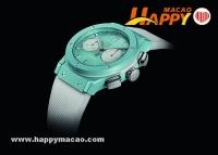 海的季節 HUBLOT藍色腕表