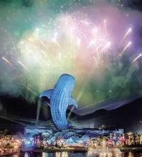 海洋王國跨年嘉年華,在浪漫煙花中迎接新一年