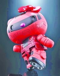 Gundam Hello Kitty齊玩超合金