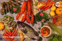 春日週末日海鮮自助餐