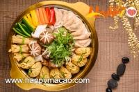 韓式素盆菜