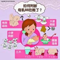 如何知道寶寶吃飽母乳了?