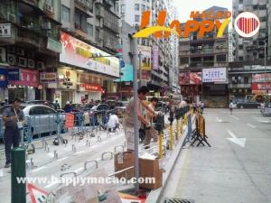 紅街市電單車泊車區開放